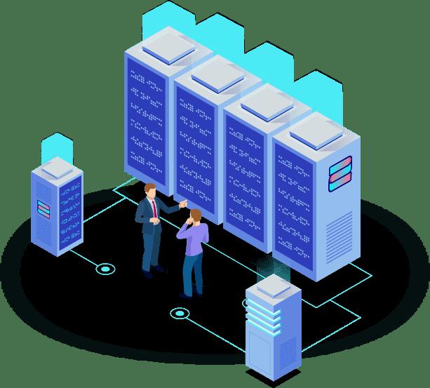 Datacenter scheme, webhosting, security
