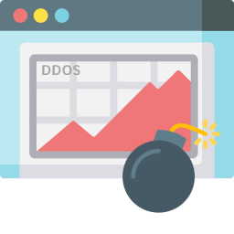 Icon DDoS protected hosting and webhosting