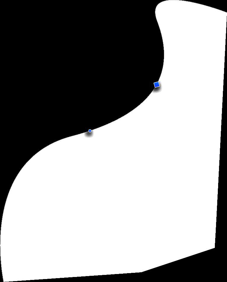 vertical shape